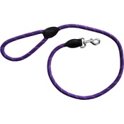 Hem & Boo - Reflective Mountain Rope Trigger Lead - Purple