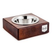 Bowl&Bone Republic - Chestnut Solo Dog Bowl