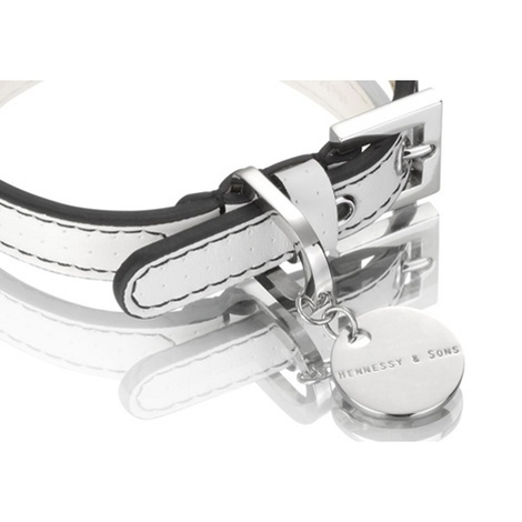 Polo Collar White/Black 2