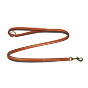 Pear Tannery - Embroidered Leather Dog Lead – London Tan