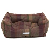 Mutts & Hounds - Grape Tweed Boxy Bed
