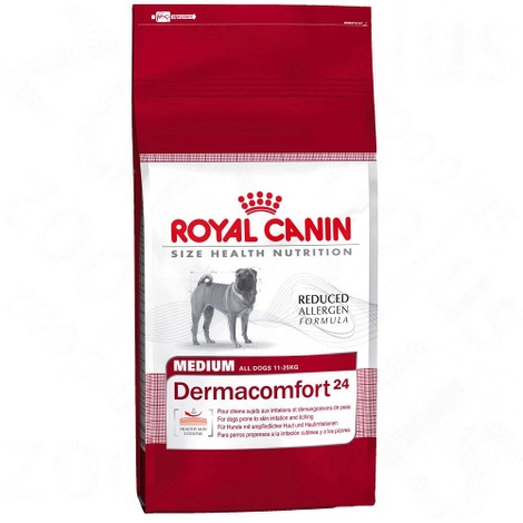 Medium Dermacomfort 24 Dog Food