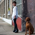 Green Geo Hands-free Dog Lead 2