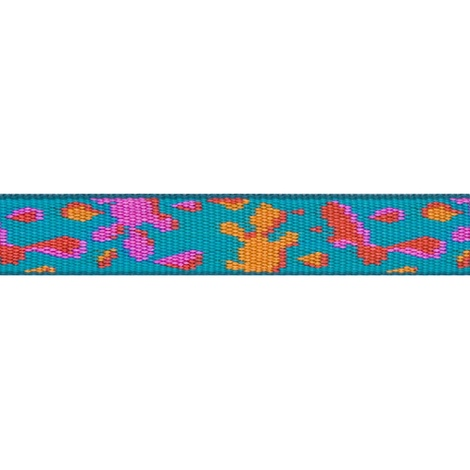 Wet Paint Lupine Dog Collar 2