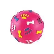 Gor Pets - Gor Rubber Giggle Ball - Pink