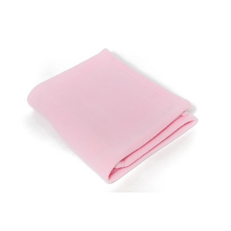 Personalised Pet Fleece Blanket – Baby Pink