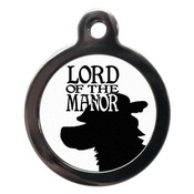 PS Pet Tags - Lord Of The Manor Pet ID Tag