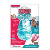 Kong - Kong Puppy Rubber Toy Blue