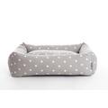Dotty Smoke Lounge Dog Bed 3