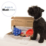 PetsPyjamas - Personalised Puppy Love Treat Box - Boy