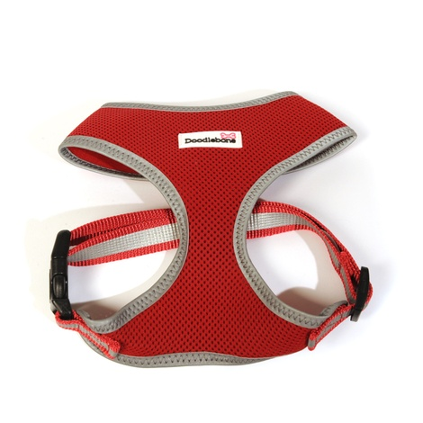 Reflective Airmesh Dog Harness – Red  3