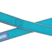 Hem & Boo - Reflective Padded Dog Lead - Aqua