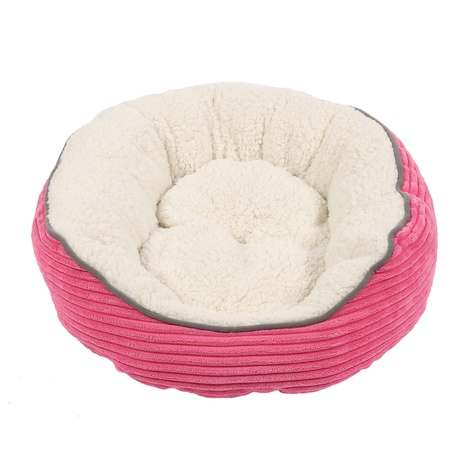 Sweet Dreams Donut Pet Bed – Pink