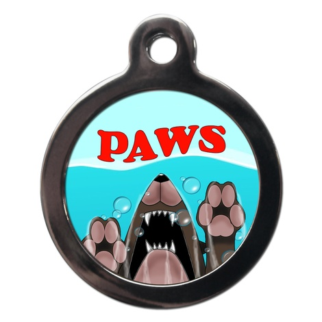 Paws Dog ID Tag