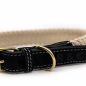 Ralph & Co - Rope collar (flat) - BLACK