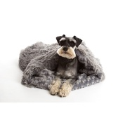In Vogue Pets - Pooch Pod Dog Bed - Silver
