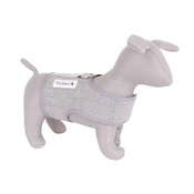 Teddy Maximus - The Marylebone' light grey harness