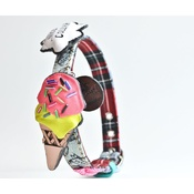 SR! Dog Accessories - Crazy Ice Cream Dog Collar