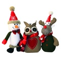 Stanley the Snowman Dog Toy 2