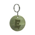 Alphabet Dog ID Tag - Plain brass on plain brass
