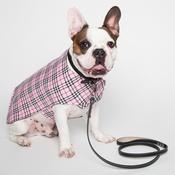 PetsPyjamas - Personalised Pink Check Dog Coat