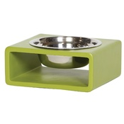 In Vogue Pets - Phorm Dog Bowl - Green - Medium