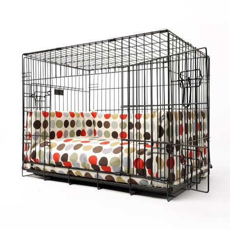 Dog Crate Mattress & Bed Bumper Set - Great Spot 2