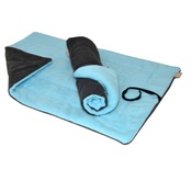 In Vogue Pets - Cosy Mats - Aqua & Charcoal