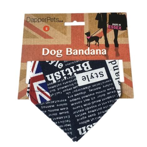 Union Jack Indiana Dog Bandana 3