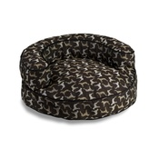 In Vogue Pets - Crypton Round Bolster Bed - Rotator Midnight