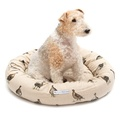 Grouse Linen Donut Bed