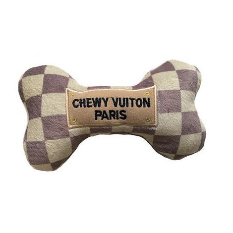 Check Chewy Vuiton Bone Dog Toy 2
