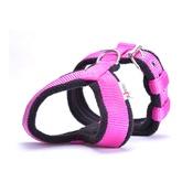 El Perro - 2.5cm Width Fleece Comfort Dog Harness – Fuchsia Pink
