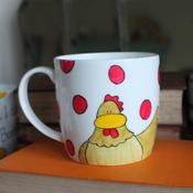 Laura Lee Designs - Oh I Do Love Chickens Mug