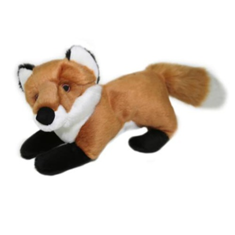 Fluff & Tuff Plush Dog Toy – Hendrix the Fox