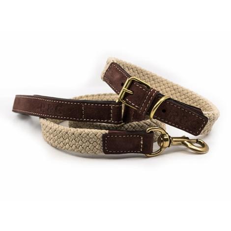 Rope collar (flat) - BROWN 3
