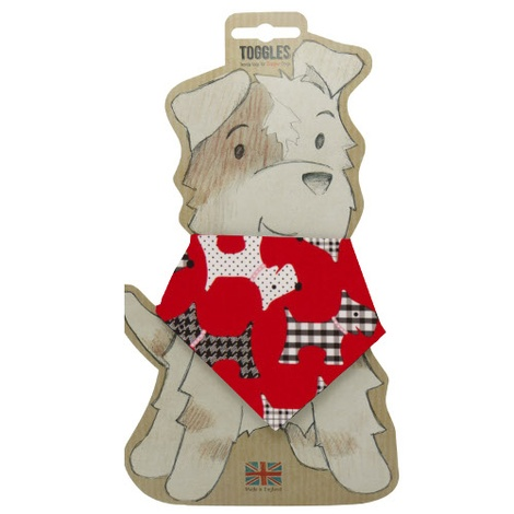Toggles Patch The Dog Puppy & Dog Bandana