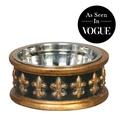 Chartres Dog Bowl