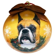 NFP - Cropped Boxer Christmas Bauble
