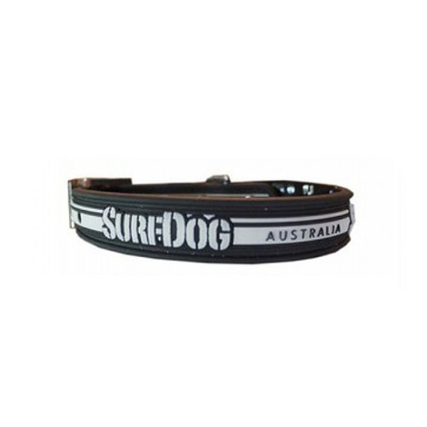 Surf Dog Waterproof Dog Collar - Black