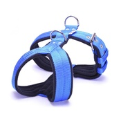 El Perro - 4cm Width Fleece Comfort Dog Harness – Royal Blue