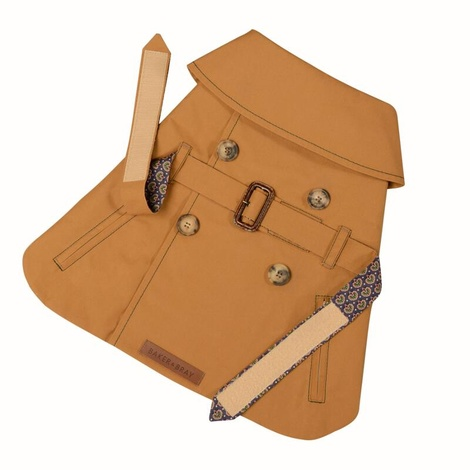 Kensington Dog Trench Coat – Cinnamon & Liberty Seth R 2