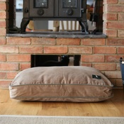 Hunt & Wilson - Luxury Corduroy Dog Bed – Biscuit