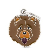 My Family - Chow Chow Engraved ID Tag
