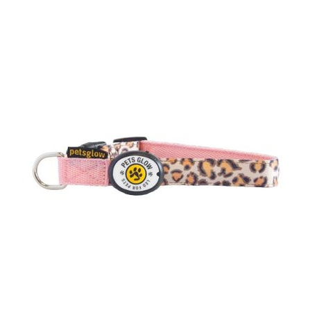 Leopard LED Dog Collar 2