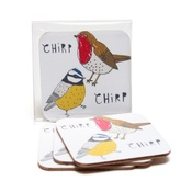 New House Textiles - Chirp Coasters