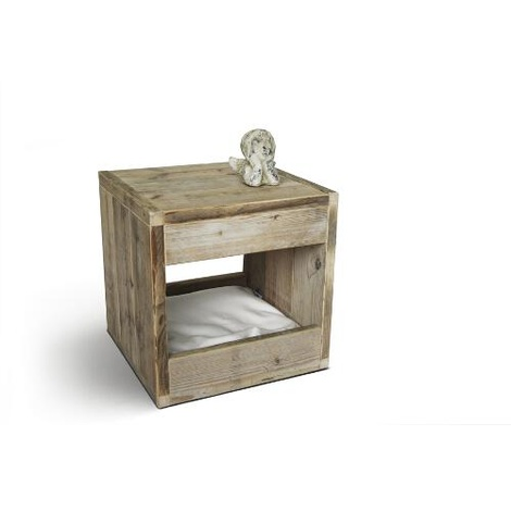 Bloq Nature Pet Bed & Side Table