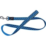 Hem & Boo - Zigzags Dog Lead - Blue