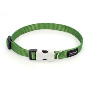 Plain Dog Collar - Green
