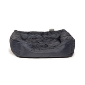 Danish Design - Quilted Snuggle Dog Bed – Navy